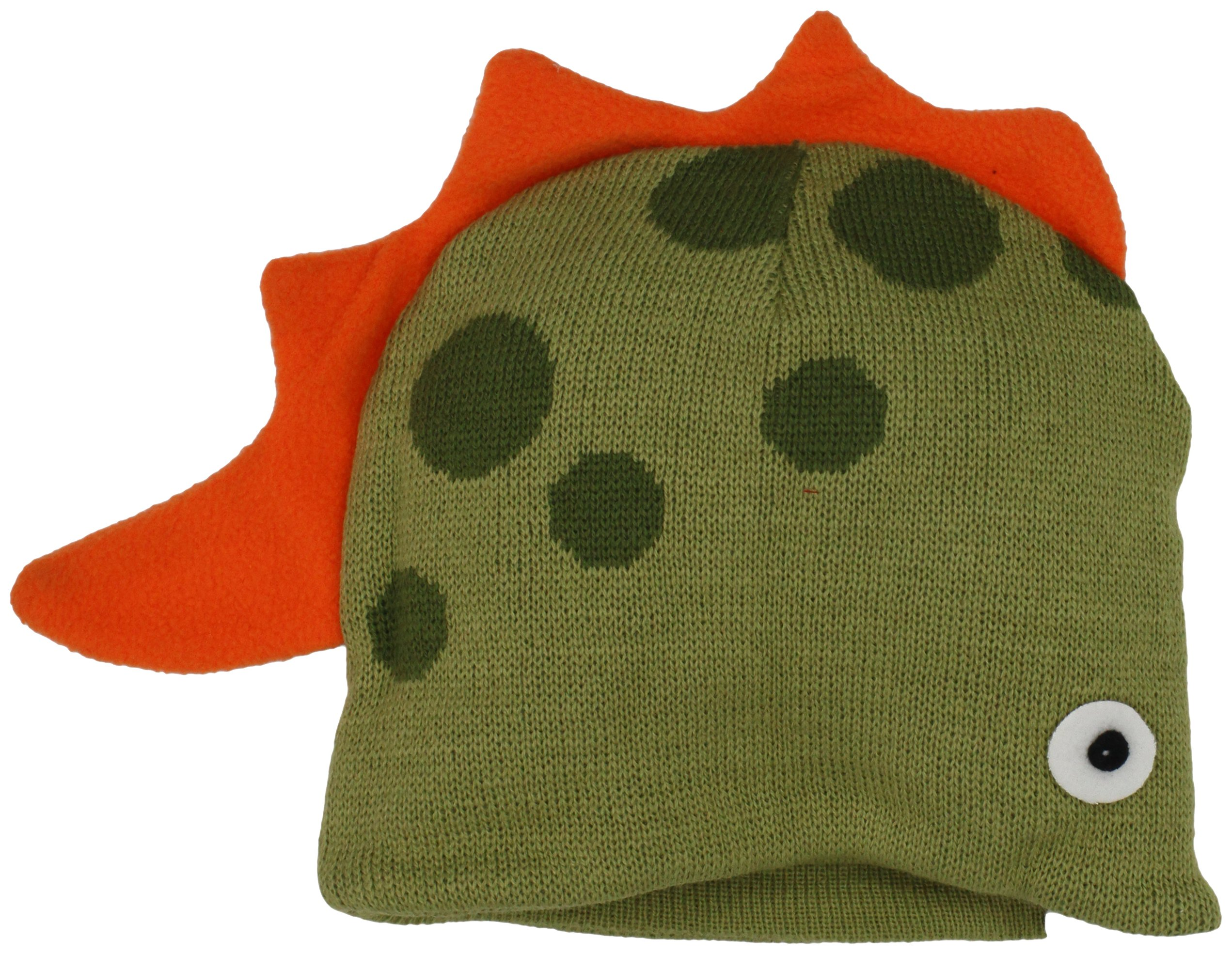 Kidorable Dinosaur Hat, Soft Knit Hat for Kids, Green, One Size Fits Most, Knit Winter Hat for Toddlers, Little Kids, Big Kids