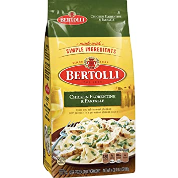 Bertolli Chicken Florentine, 24 oz (Frozen)