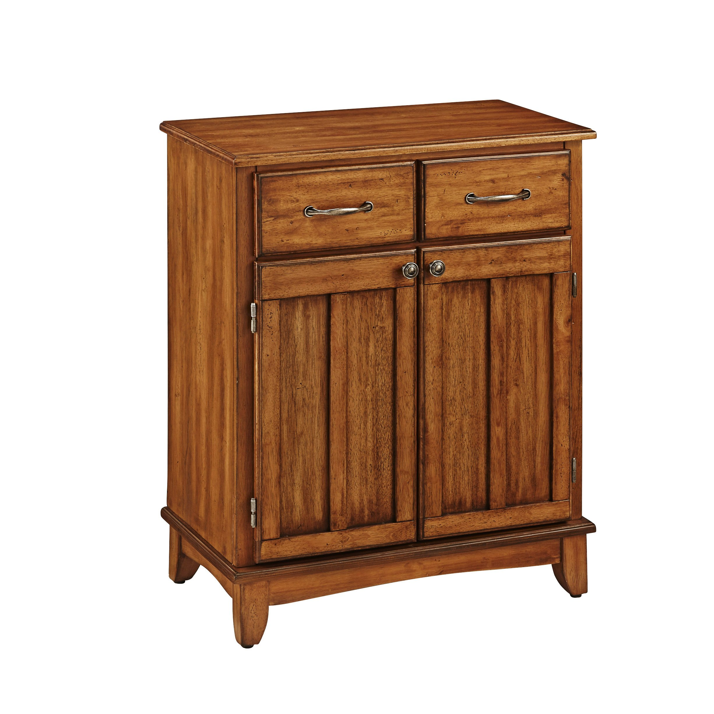 Buffet of Buffet Cottage Oak with Wood Top by Home Styles by Home Styles