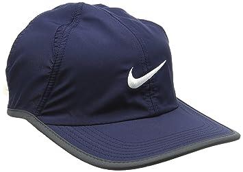 navy nike cap