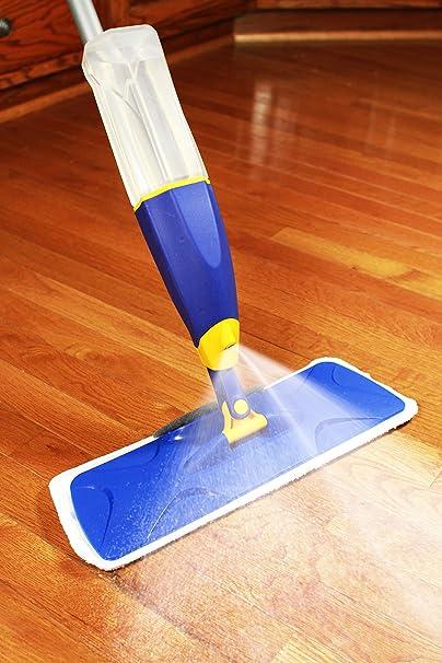 Amazon Com Jet Clean Prospray Microfiber Spray Mop Professional Floor Cleaning Wet Dust Kit For House Kitchen Hardwood Ceramic Tile Vinyl Home