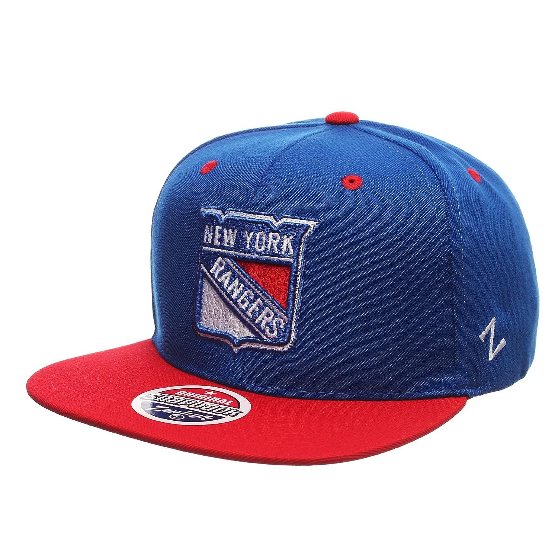 Zephyr NHL MVP Superstar 32//5 Adjustable Snapback Cap One Size Baseball Hat 2-Tone Flat Bill