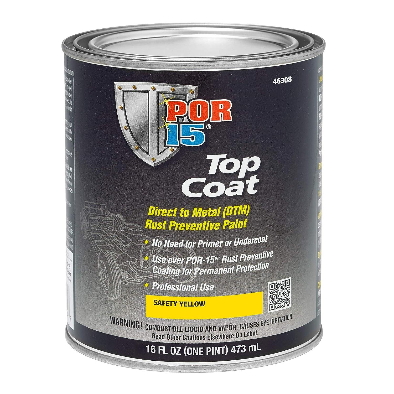 Top Coat Paint >> Amazon Com Por 15 45904 Top Coat Chassis Black Paint 32