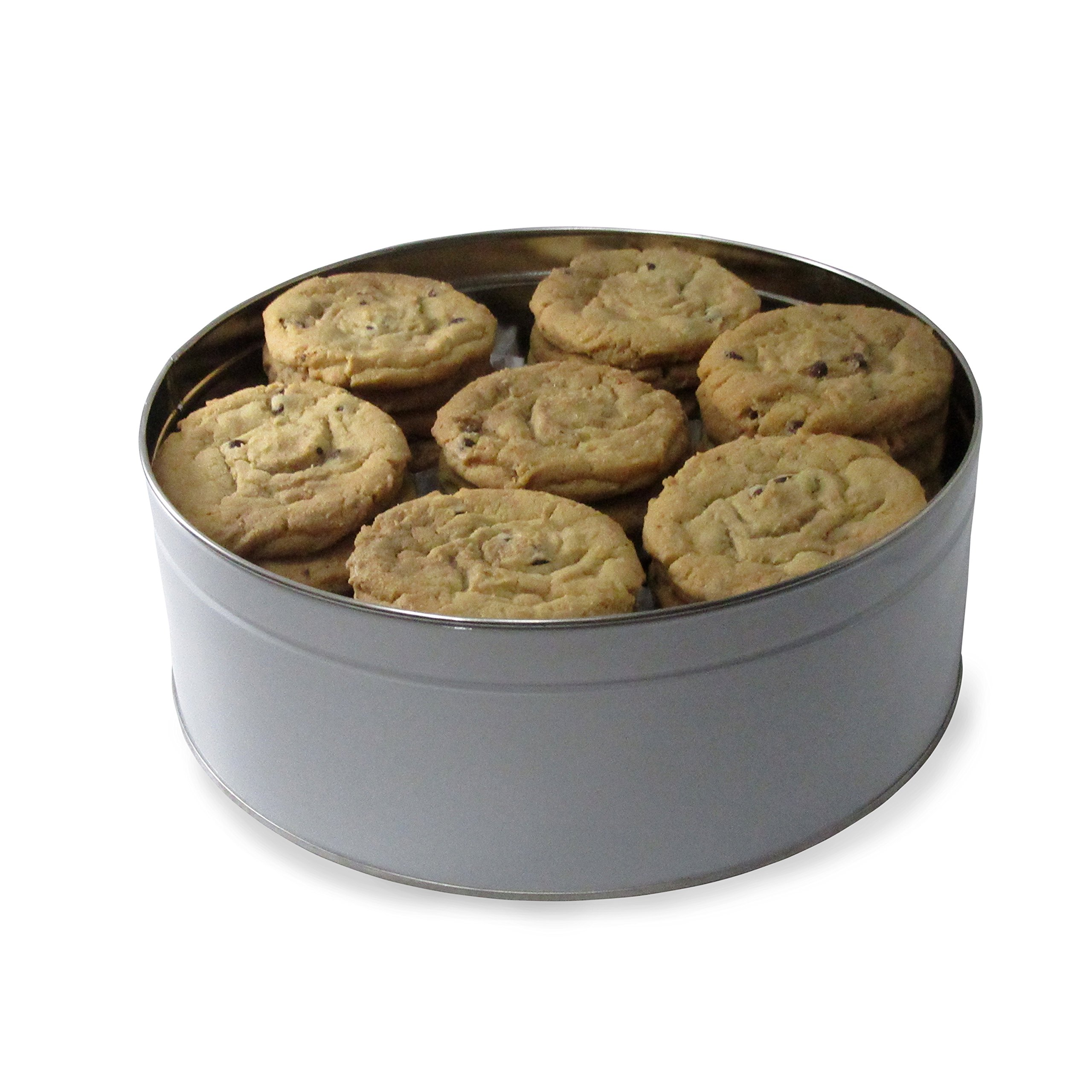 Fresh Baked Chocolate Chip Cookie Tins, Comes in Multiple Sizes | Gimmee Jimmy's Authentic Cookies-5 Pound Tin by Gimmee Jimmy's Cookies (Image #1)