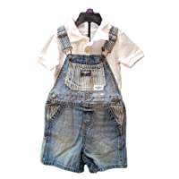 OshKosh B'gosh Dungaree Shorts and OKBG Polo Shirt Boys 24 Month