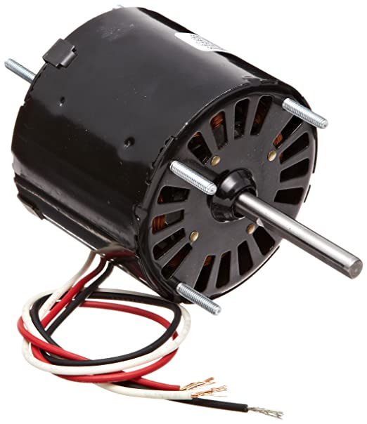 1//50HP 0.9 amps 1500rpm CCW Rotation 115V Fasco D601 3.3 Frame Totally Enclosed Shaded Pole General Purpose Motor with/Sleeve Bearing 60Hz