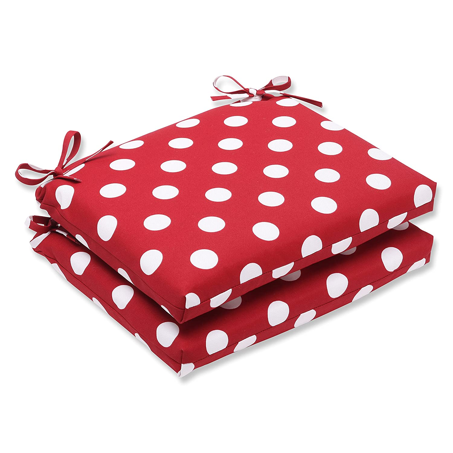 Amazon Pillow Perfect Indoor Outdoor Red White Polka Dot Seat