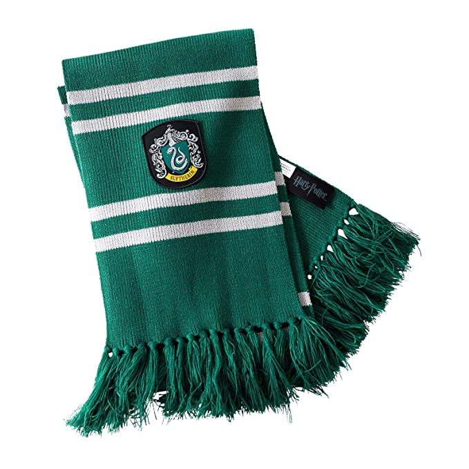 offrire negozio ufficiale diventa nuovo Harry Potter - Sciarpa Serpeverde 170 cm Elbenwald grigio e verde