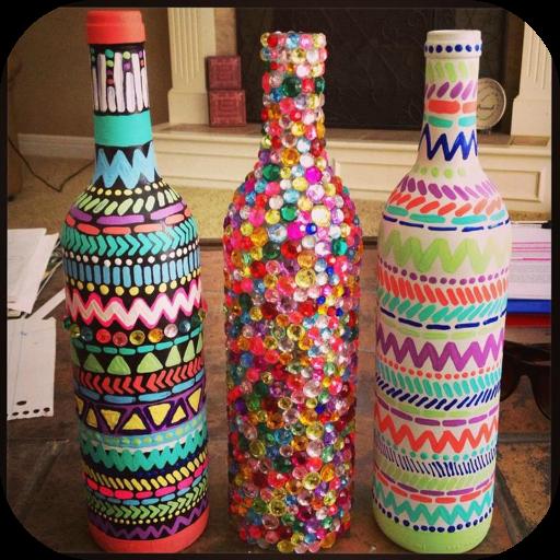 Laland Apps Crafts Wine Bottles product image