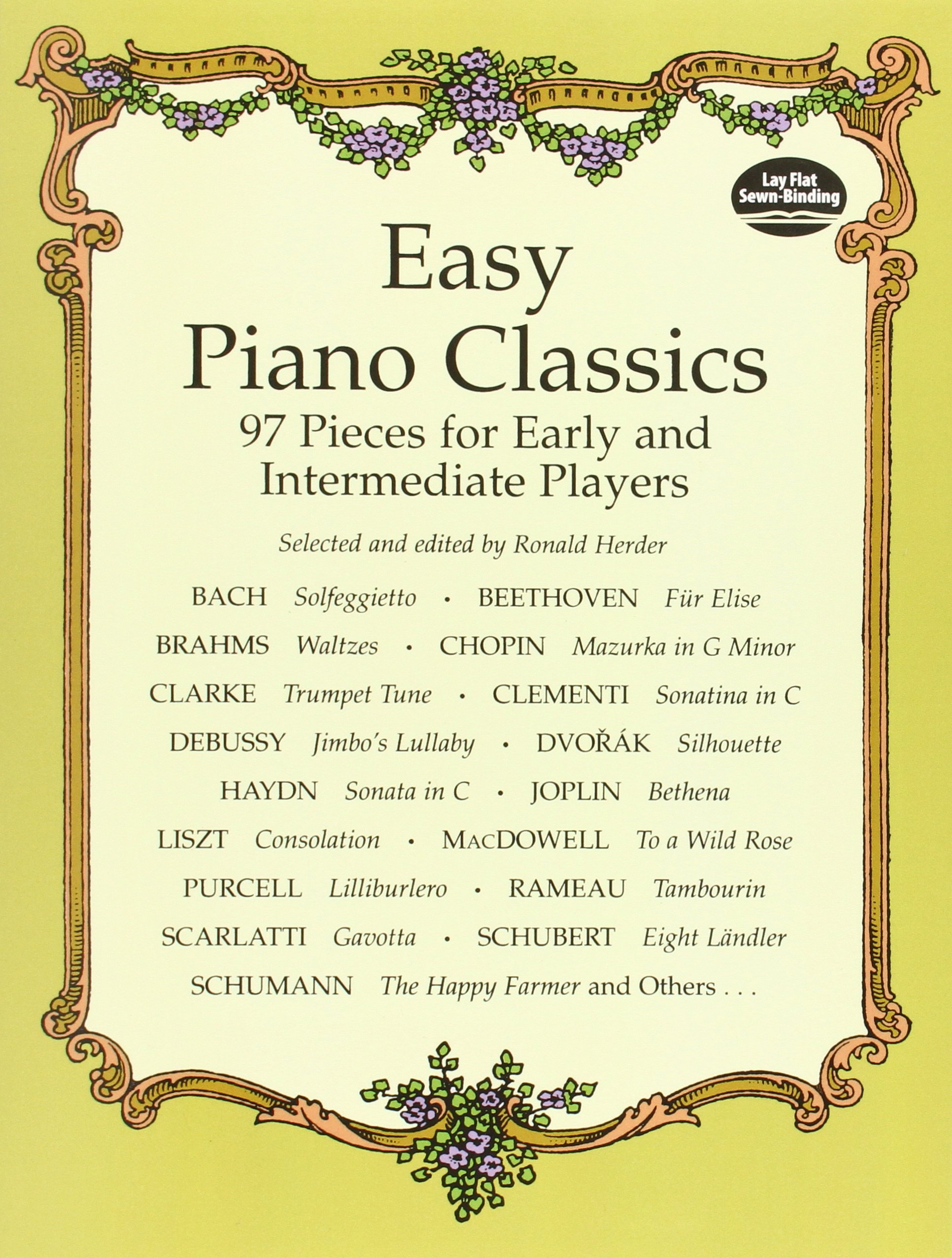 Easy Piano Classics: 97 Pieces for Early and Intermediate