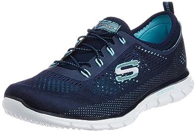 b6cce0ff8b392c Skechers Damen Glider Harmony Sneaker Schwarz Various  Amazon.de ...