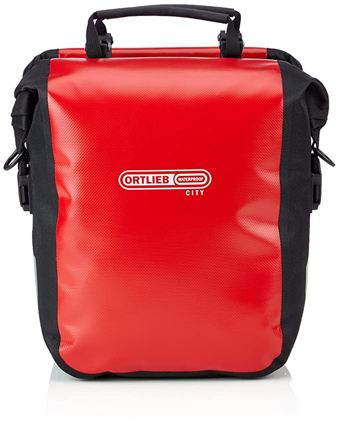Amazon.com: Ortlieb Sport – Sillín Roller City Rojo Bolsas ...
