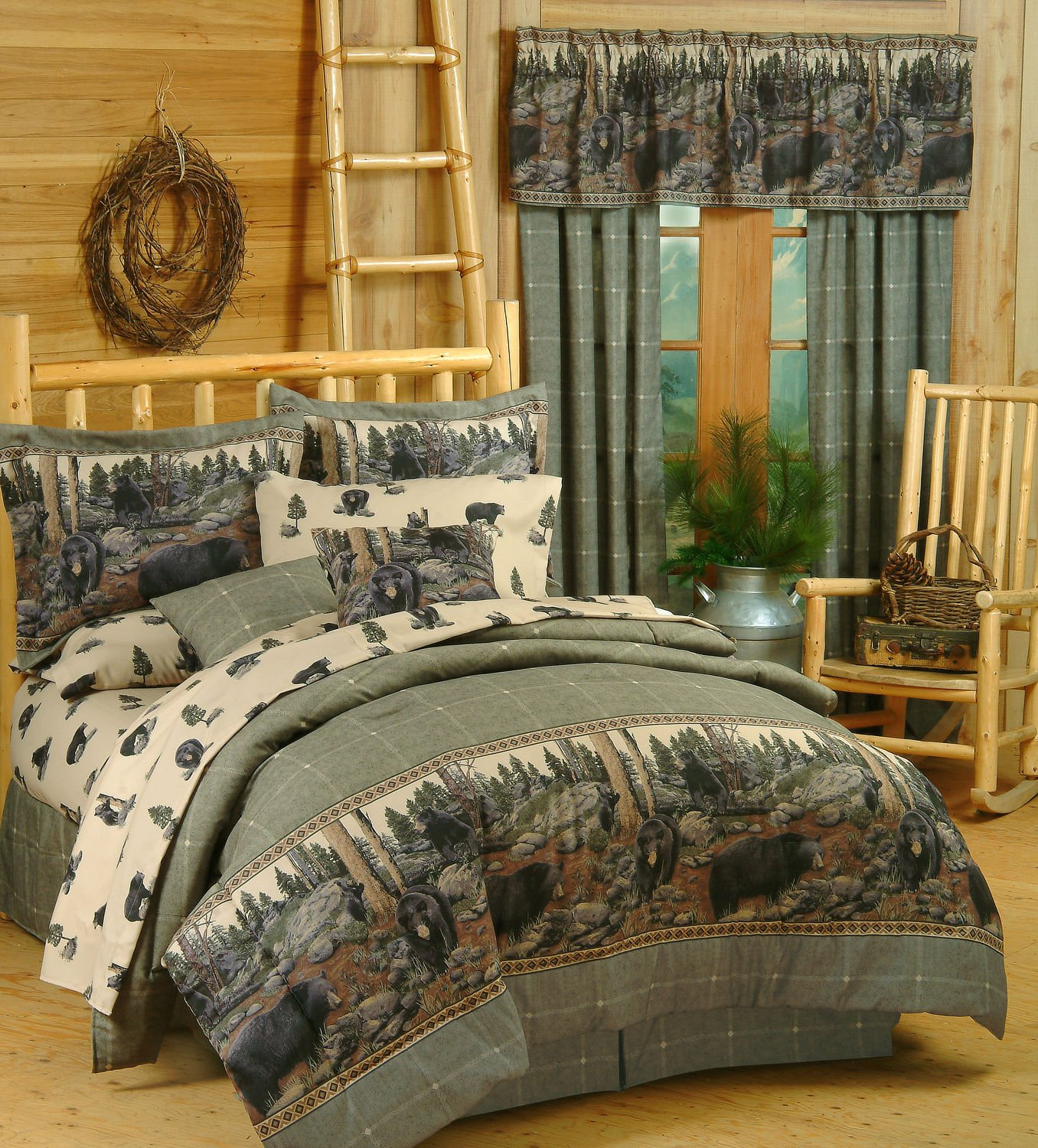 for king sheet full of in bedroom bedding and cabins a mens sets comforter colorful with clearance set white bed navy bag cabin queen size