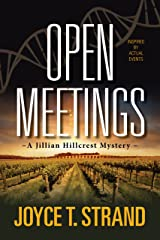 Open Meetings: A Jillian Hillcrest Mystery Paperback