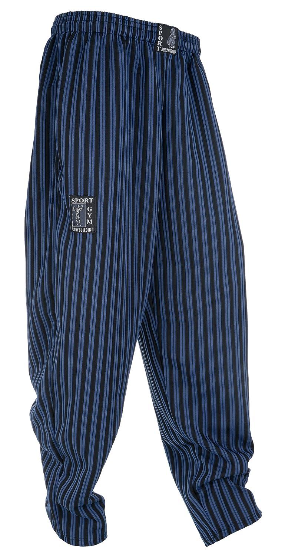 millionen-olly Bodybuilding Hose Gym Sport Pantaloni Jeans Blu S M L XL XXL XXXL Pumper Hose