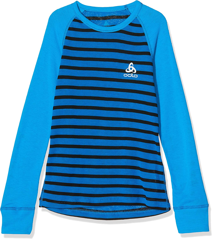 Camiseta Beb/é-Ni/ños Odlo Bl Top Crew Neck L//S Active Warm Kids