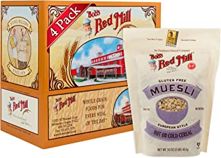 product image for Bob's Red Mill Resealable Gluten Free Muesli Cereal, 16 Oz (4 Pack)