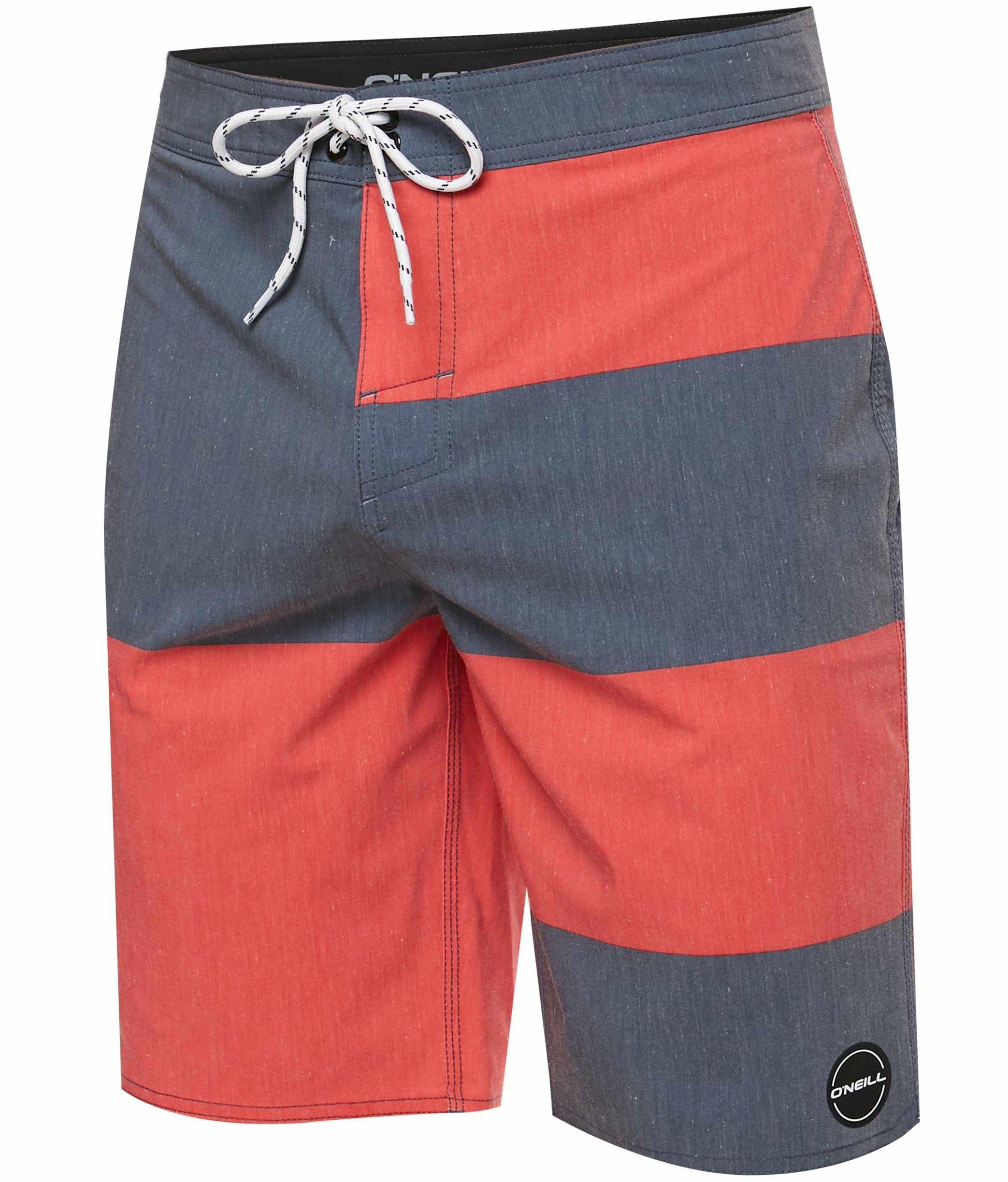 O'Neill Men's Hyperfreak Heist Informant Boardshort - Informant Red, Size 34