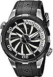 Perrelet Men's A1067/1 Turbine Diver Analog Display Swiss Automatic Black Watch