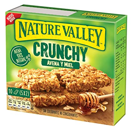 Nature Valley - Barritas de Avena y Miel - Caja de 5 ...