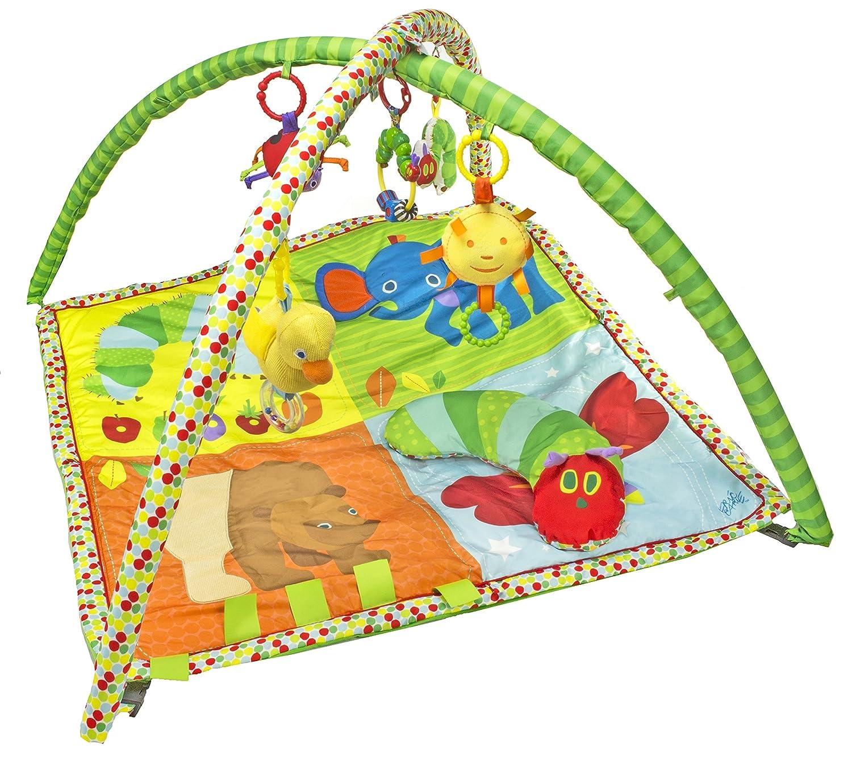 amazoncom  kids preferred  eric carle baby activity gym with  - amazoncom  kids preferred  eric carle baby activity gym with pillow baby