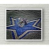 cb47ba7847c Dallas Cowboys Limited Poster Artwork - Professional Wall Art Merchandise  (More (8x10)