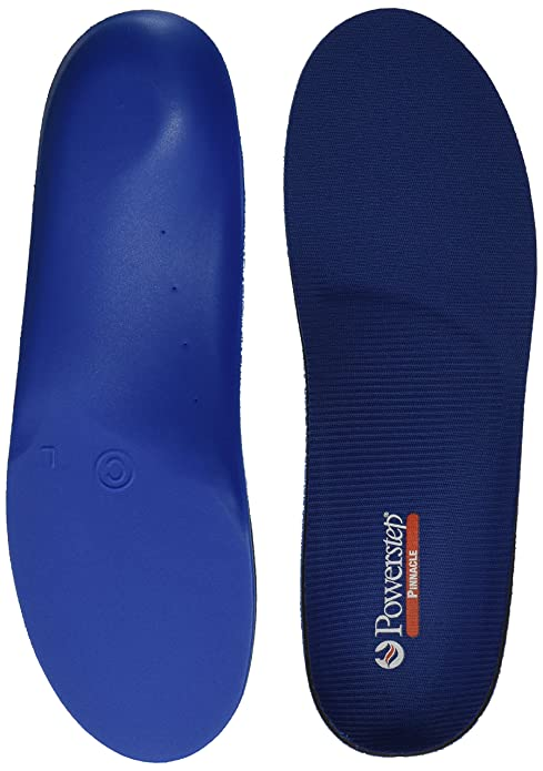 Powerstep Pinnacle Premium Orthotic Shoe Insoles, Flexible Cushioning, Perfect For Alleviating Foot Pain
