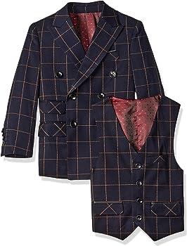 a.x.n.y Big Boys Boys Tailored Three-Piece Tuxedo Set