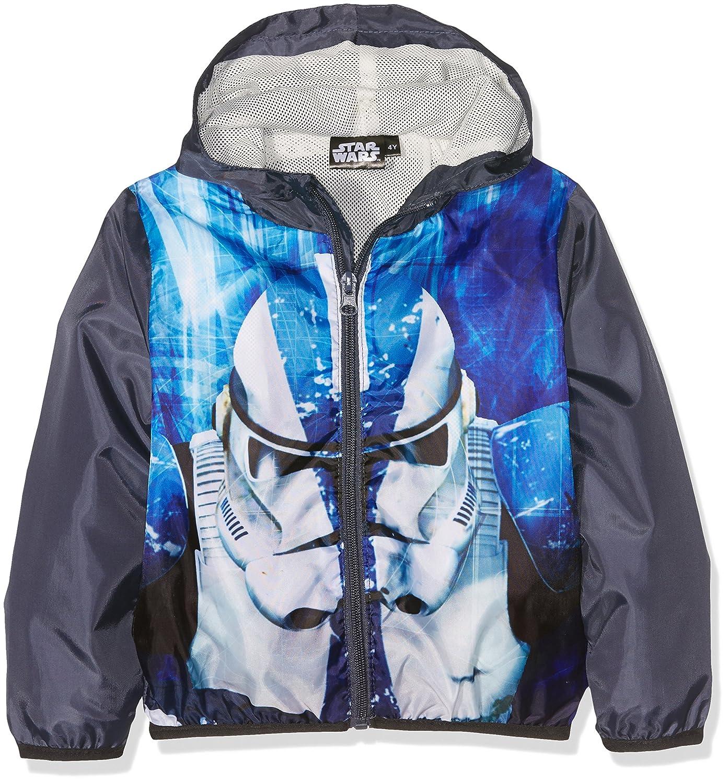 Star Wars Stormtrooper Giubbotto, Bambino Blu (Bleu Marine) 3-4 Anni DQE1186