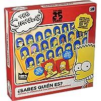 Novelty Juego Sabes Quién Es? The Simpsons, Caja de Cartón