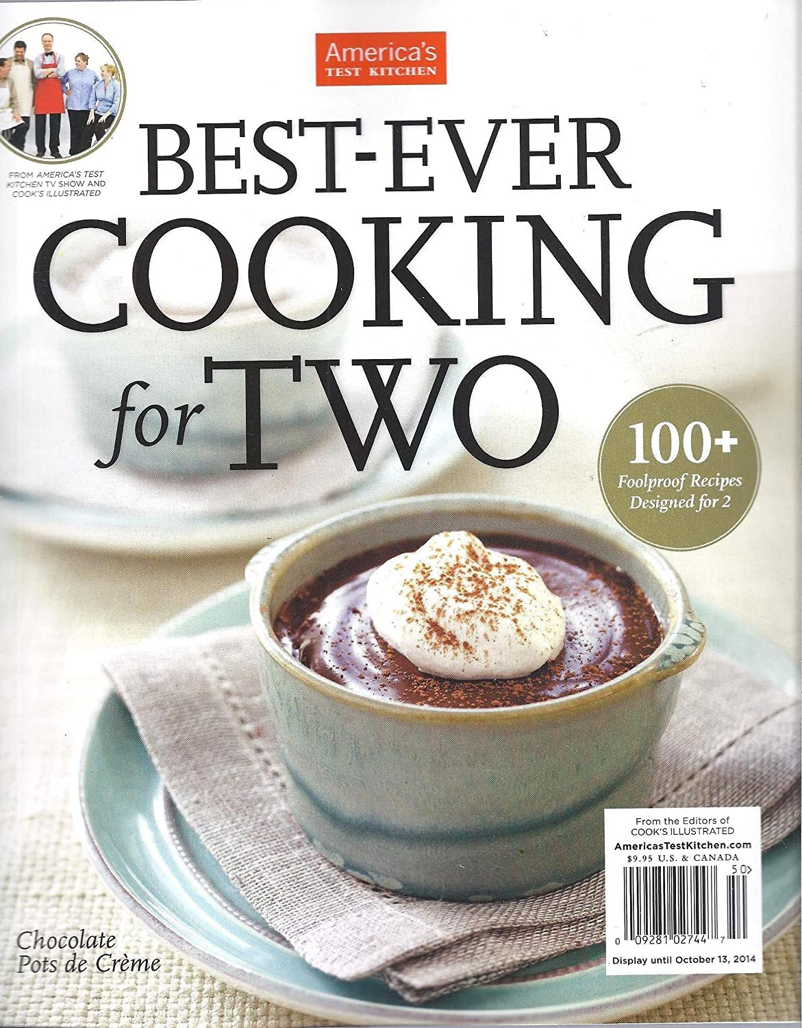 Amazon.com : AMERICA\'S TEST KITCHEN BEST-EVER COOKING FOR TWO ...