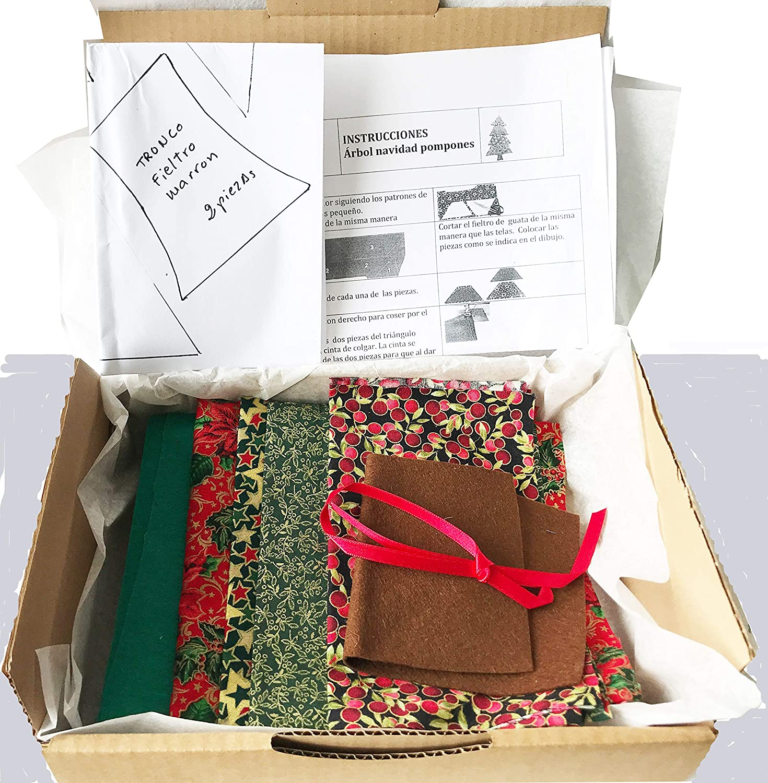 DIY Kit pino de navidad para colgar de miregalodiferente.com.: Amazon.es: Handmade