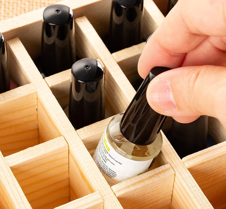 Amazon.com: Organizador de aceites esenciales – Caja de ...