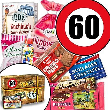 Süssigkeiten Geschenk Ddr Geschenk Box Zahl 60 Geburtstag