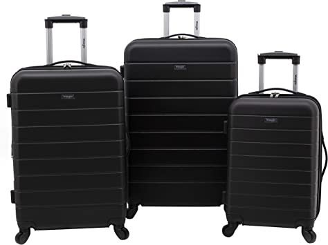 Wrangler 20 Piece USB Port Cup Holder Carry-On Luggage