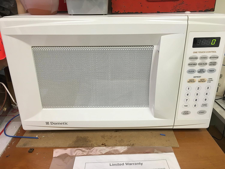 Dometic Compact RV/Marine Grade Counter Microwave
