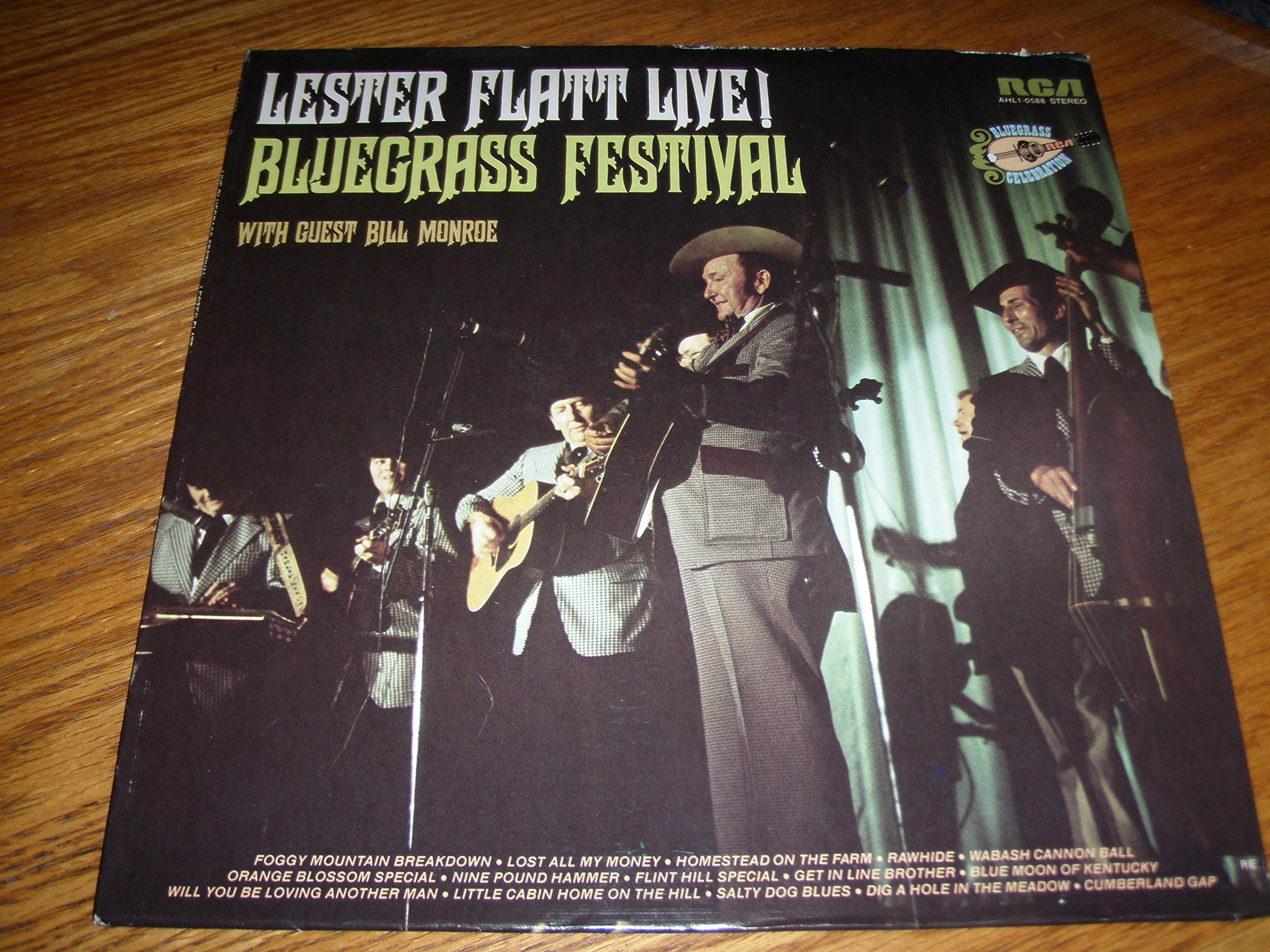 Live! Bluegrass Festival with Guest Bill Monroe by RCA Victor