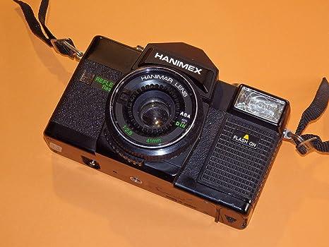 Cámara Hanimex Reflex Flash 35, incluye objetivo Hanimar Lens 1 ...