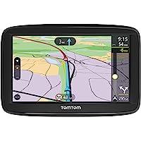 TomTom Car Sat Nav VIA 52, 5 Inch with Handsfree Calling, Lifetime Traffic via Smartphone and WE Maps,Resistive Screen