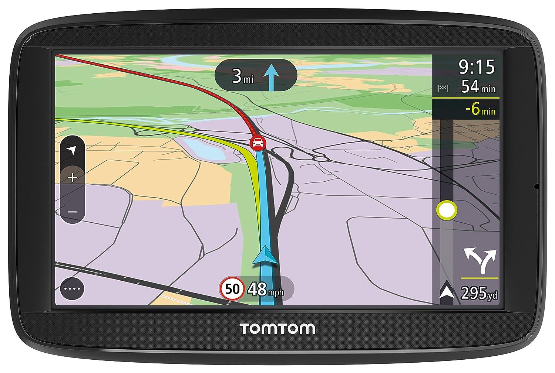 TomTom VIA Inch Sat Nav With UK Lifetime Maps Amazoncouk - Us maps for tomtom