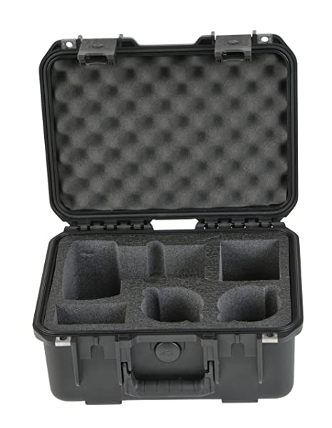 SKB iSeries Case - Maletín para cámara réflex, Color Negro: Amazon ...