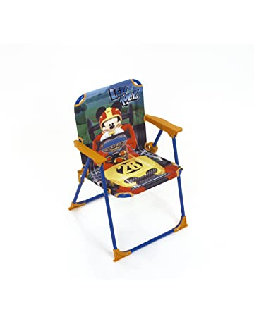 ARDITEX Silla Plegable para niños bajo Licencia Mickey Mouse en Metal Dimensiones: 38 x 32