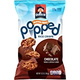 Quaker Popped Rice Crips, Gluten Free, Chocolate, Small Bag, 3.52 Ounce