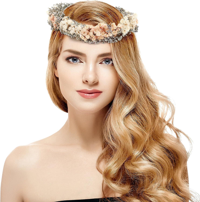 High Quality Flower Headband Vintage Floral Headband Elegant
