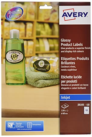 2c7f463acb Glossy Product Labels