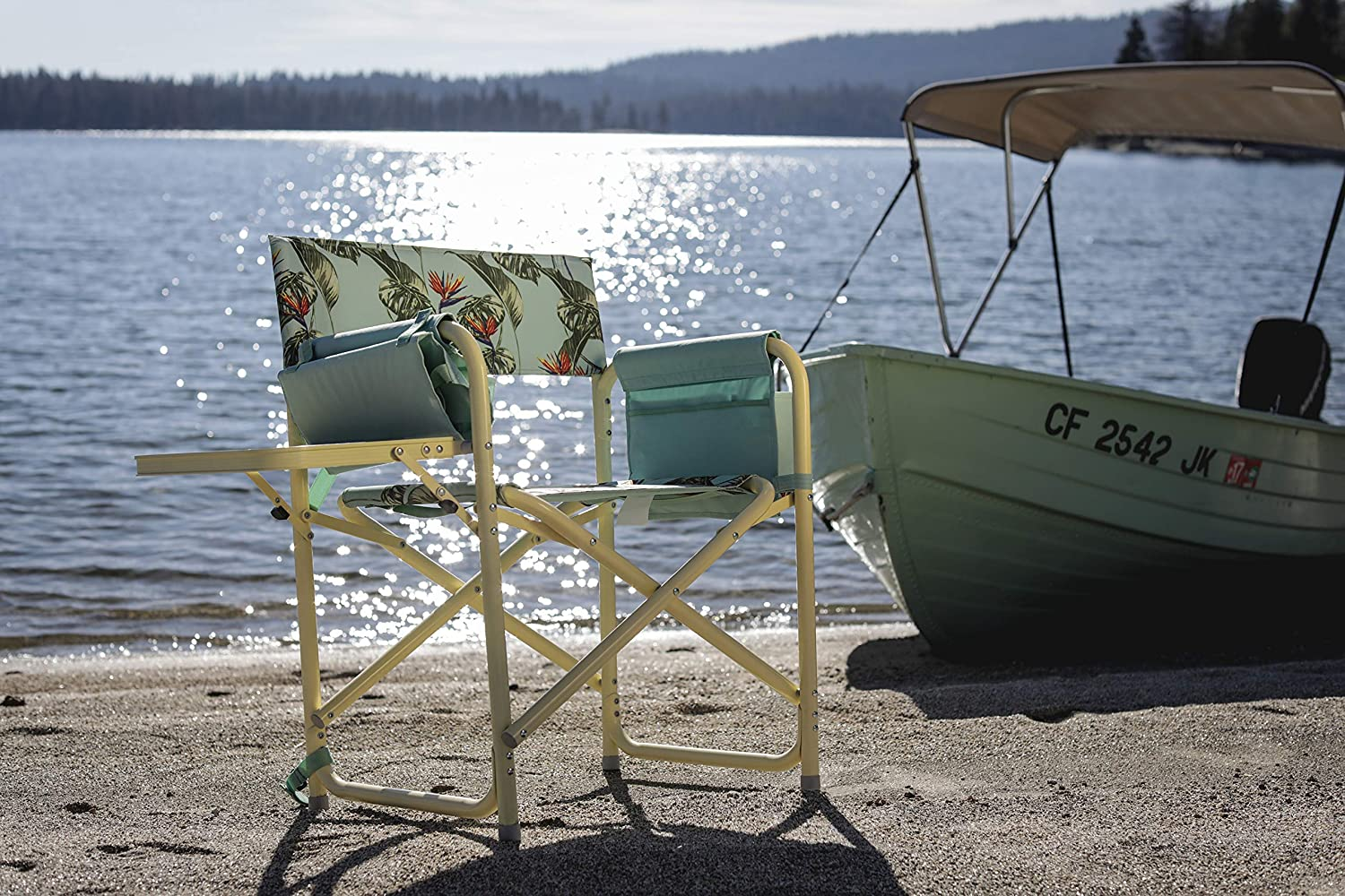 Sports-non license 810-17-164-000-0 a Picnic Time Brand Outdoor Directors Folding Chair Camouflage Picnic Time ONIVA