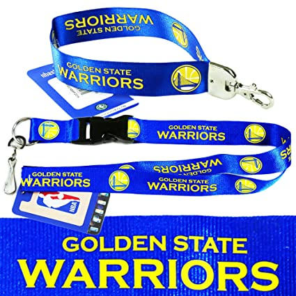NBA Golden States Warriors (Lanyard and Wristlet Keychain) Pack