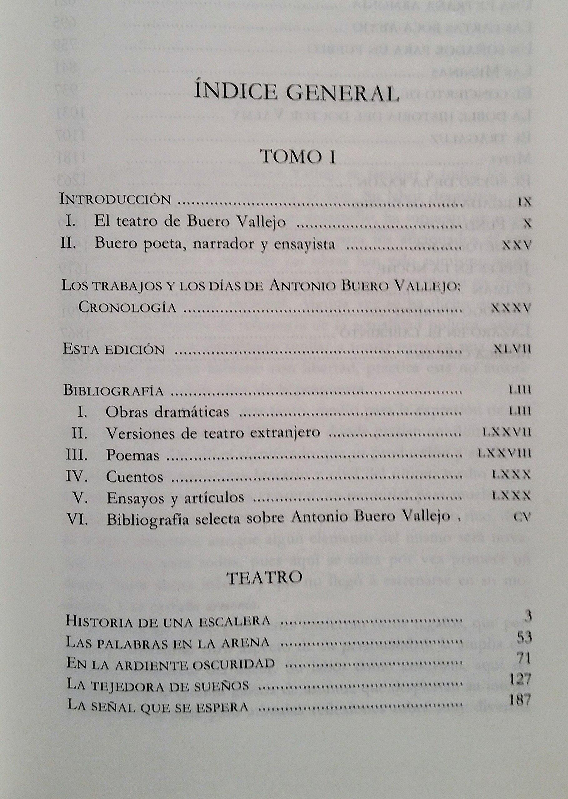 Obra completa abtonio buero Vallejo. 2 tomos: Amazon.es: Buero Vallejo, Antonio: Libros