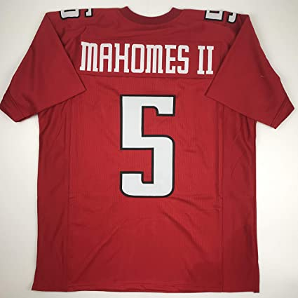 4c119df250a Unsigned Patrick Mahomes II Texas Tech Red College Custom Stitched Football  Jersey Size Men's XL New