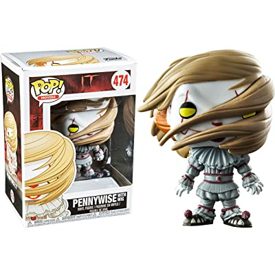 Pop Funko Pennywise with Wig: Toys & Games